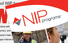 Brochure/Flyer for NIP Group